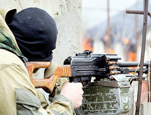 "Special operation in the Buinaksk District of Dagestan in 2010. Photo by newspaper ""Dagestanskaya Pravda""."