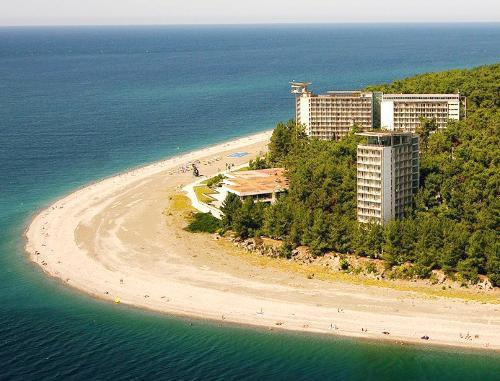 Pitsunda Resort, Abkhazia. Photo from the official tourist website of the Republic of Abkhazia (http://abkhazia.travel), © of the State Committee of the Republic of Abkhazia for Resorts and Tourism