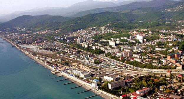 View of the city of Sochi. Photo: Sergey Subbotin, http://commons.wikimedia.org/