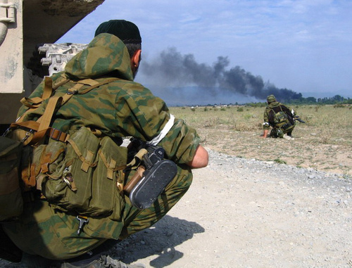 Special operation in Chechnya. 2013. Photo from NAC archive, nac.gov.ru