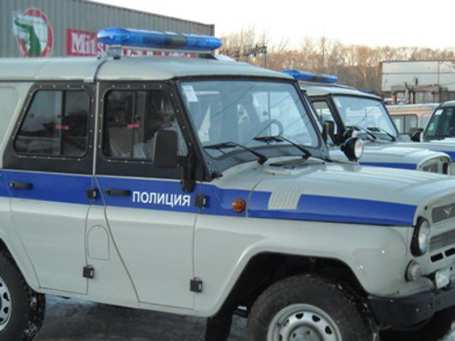 A police car. Photo http://uazcentr.ru/