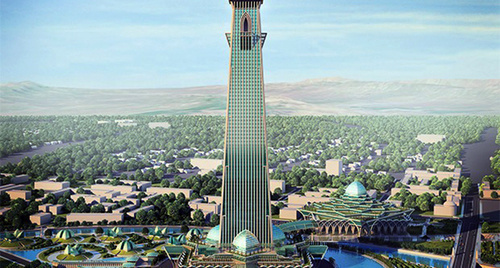 Builders In Grozny Began Digging A Pit For 400 Meter Tower