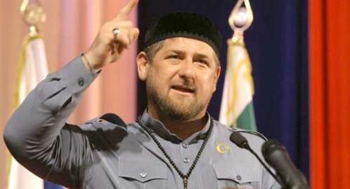 Ramzan Kadyrov, the leader of the Republic of Chechnya. Photo: http://www.kazpravda.kz/news/mir/ramzan-kadirov-ozhidaet-bolee-milliona-protestuushchih-protiv-karikatur/
