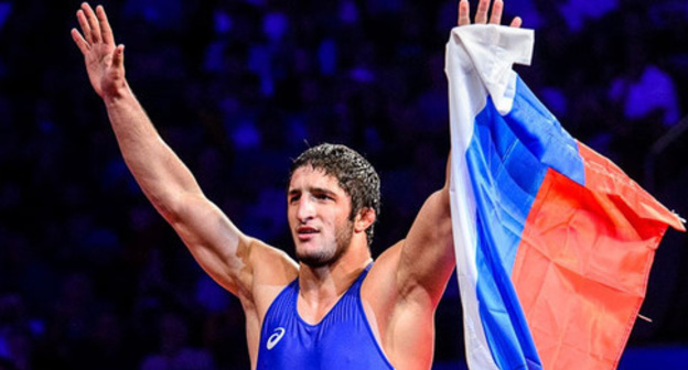 Abdulrashid Sadulaev. Photo http://wrestdag.ru/