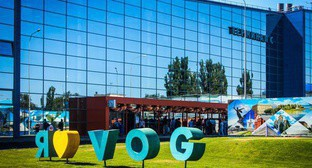 New terminal C of the Volgograd airport. Photo: http://xn--80aafeah9bwaabcgldgz5p.xn--p1ai/mediacenter/news/88644/