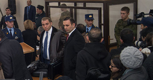 Court hearing in case of the murder of the Avetisyan family. Photo: http://ru.armeniasputnik.am/armenia/20151218/1427096.html