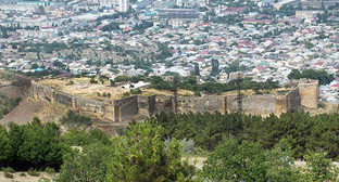 "Dagestan, a view of Derbent and Naryn-Kala fortress. Photo by Patimat Makhmudova for the ""Caucasian Knot"""