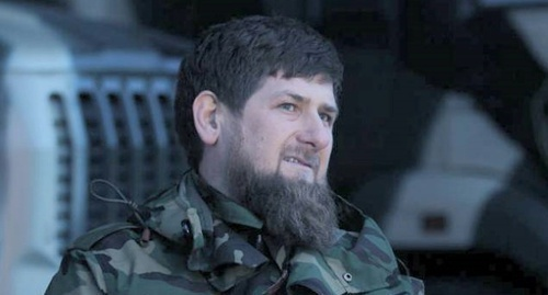 Ramzan Kadyrov. Photo from official Kadyrov's account in social network, vk.com/ramzan