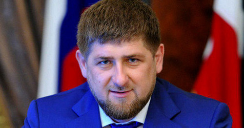 Ramzan Kadyrov. Photo https://chechnyatoday.com/ramzan_kadyrov