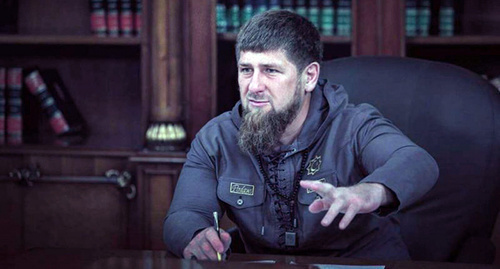 Ramzan Kadyrov. Photo https://vk.com/ramzan?z=photo279938622_456240512%2Fphotos279938622