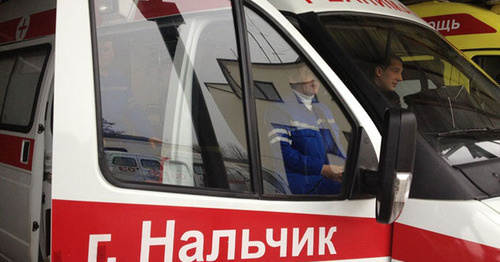 An ambulance car. Photo http://kbr.ru/