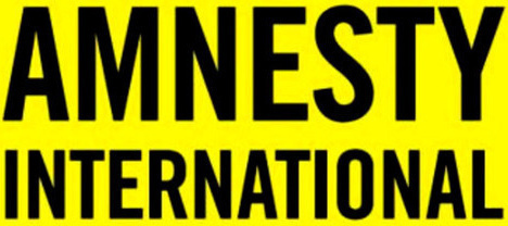 "Logo of ""Amnesty International"". Photo: RFE/RL"