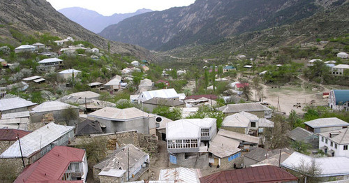 Village of Balakhani, Untsukul District, Dagestan. Photo: Ismail Magomedov, http://www.odnoselchane.ru