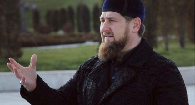 Ramzan Kadyrov. Photo: https://www.instagram.com/kadyrov_95/