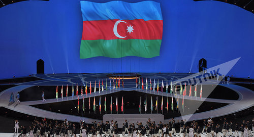 Opening ceremony of the 4th Islamic Solidarity Games in Baku, May 12, 2017. Photo: © Sputnik / Murad Orujov