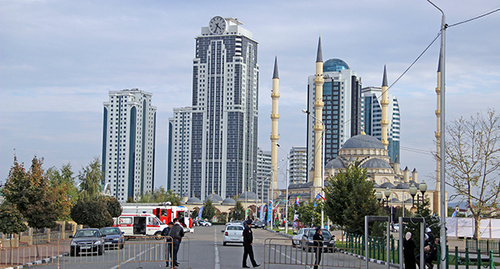 "Grozny. Chechnya. Photo by Magomed Magomedov for ""Caucasian Knot"""