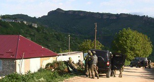 Special operation in the Dagestani village of Karamakhi. May 18, 2017. Photo: http://nac.gov.ru