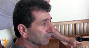 Volodya Avetisyan. Still picture from video: http://rus.azatutyun.am/content/article/25432642.html