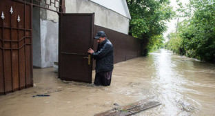 Flooding in Levokumka village, Stavropol Territory. Photo: Anton Podgaiko/Yuga.ru