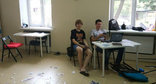 Alexei Navalny's office in Krasnodar after attack. Photo: https://vk.com/teamnavalny_krd