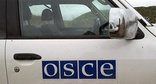 OSCE vehicle in conflict zone. Photo by Alvard Grigoryan for the Caucasian Knot.