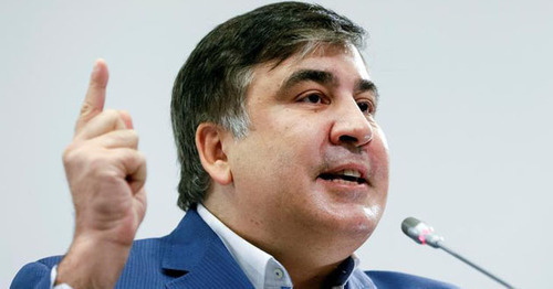 Mikhail Saakashvili. Photo: REUTERS/Valentyn Ogirenko