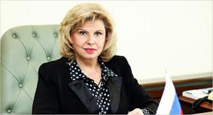 Tatiana Moskalkova, the Russia's Ombudsperson. Photo http://ombudsmanrf.org/