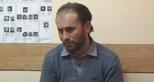 "A native of Dagestan suspected of involvement in the terrorist organization ""Islamic State"" (IS) banned in Russia. Photo by the National Antiterrorist Committee"