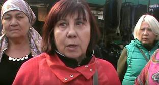 Sellers and shoppers at the Sheep Wool market in Nalchik. Photo: screenshot of the video https://www.youtube.com/watch?v=WLwj5-d8ldE
