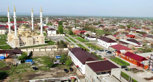 A view of the Achkhoi-Martan District. Photo http://www.grozny-inform.ru/multimedia/photos/64244/?mob=1