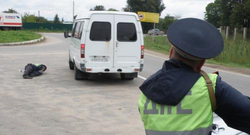 Road-and-patrol service block post. Photo: http://nac.gov.ru