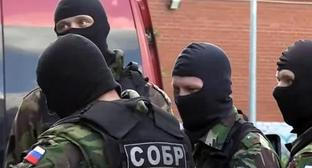 A special operation to detain militants from Kabardino-Balkaria in Saint Petersburg. Photo: screenshot of the video https://www.youtube.com/watch?v=ZsKHG3JRbso