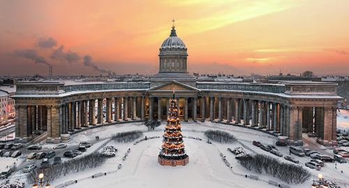 Kazan Cathedral in Saint Petersburg. Photo: Ivan Smelov https://ru.wikipedia.org/wiki/Казанский_собор_(Санкт-Петербург)