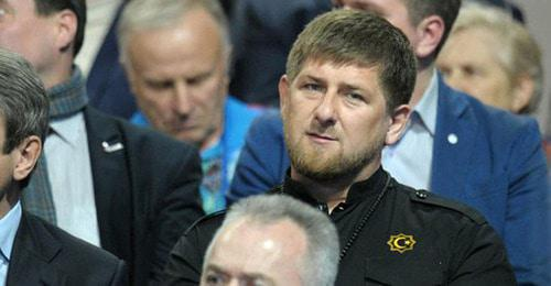 Ramzan Kadyrov. Photo by the press service of the President of Russia https://ru.wikipedia.org/