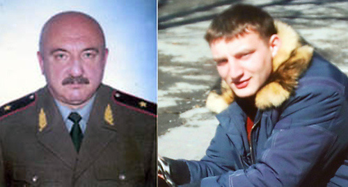 Oleg Alborov (left) and his son Igor Alborov. Collage prepared by the 'Caucasian Knot'.