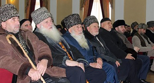 Council of elders. Photo: http://putyislama.ru/kerla/2117
