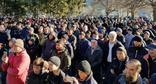 Residents of the village of Duisi (Georgia) held a protest action against the actions of the law enforcers who wounded 19-year-old Temirlan Machalikashvili. December 207. Photo: North Caucasus Service (RFE/RL)