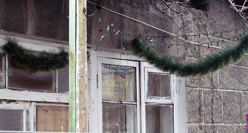 "The murdered Avetisyan family's house in Gyumri. January 14, 2015. Photo by Tigran Petrosyan for the ""Caucasian Knot"""