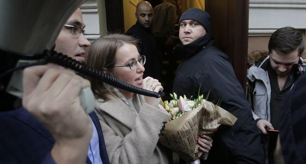 Ksenia Sobchak. Photo: Reuters/Anton Vaganov