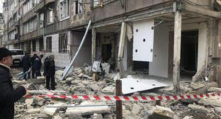The consequences of the explosion in Yerevan. Photo Sputnik/ Aram Nersesyan https://ru.armeniasputnik.am/incidents/20180220/10613399/vzryv-v-zhilom-dome-v-erevane-ehvakuirovany-14-chelovek.html