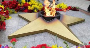 "An eternal flame in Sochi. Photo by Svetlana Kravchenko for the ""Caucasian Knot"""