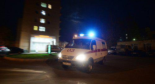 An ambulance car. Photo © Sputnik / Konstantin Chalabov
