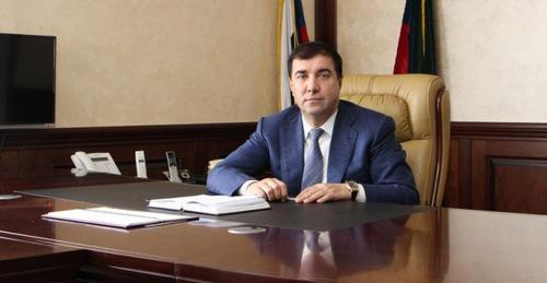 Magomed Djelilov. Photo: press service of the administration of Derbent District.