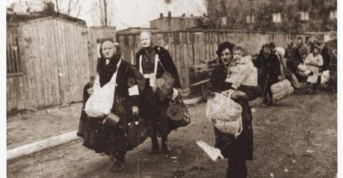 The deportation. Photo: public heritage https://ru.wikipedia.org