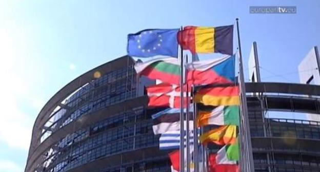 The European Parliament in Strasbourg. Screenshot of a video on the website of the European Parliament. http://www.europarl.europa.eu/aboutparliament/en/20150201PVL00010/Organisation