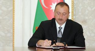 Ilham Aliev. Photo: official website of the President of Azerbaijan