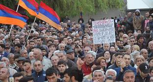 Rally in Yerevan, April 13, 2018. Photo by Tigran Petrosyan for the Caucasian Knot