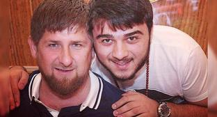 Ramzan Kadyrov and his nephew Khamzat. Photo: https://www.instagram.com/kadyrov.team/?hl=tr
