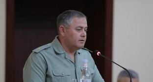 Artak Davtyan, chief of the General Staff of the Armed Forces of Armenia. Photo: press service of the Ministry of Defence of Armenia, http://www.mil.am/ru/persons/99