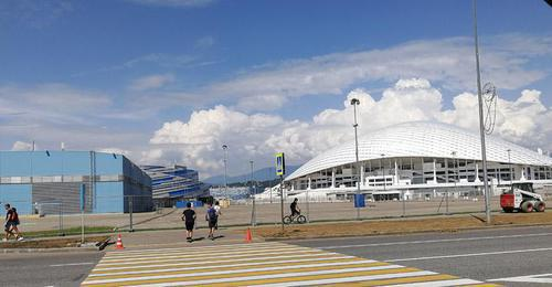 "Sochi, ""Fisht"" Stadium. Photo by Svetlana Kravchenko for the Caucasian Knot"